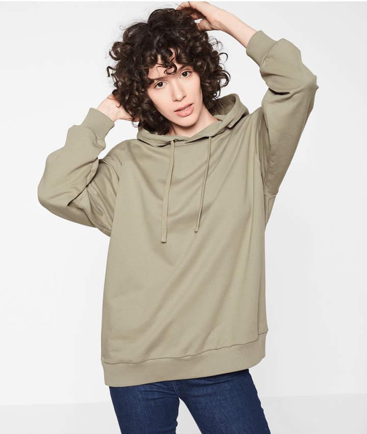 Sweatshirt, Grün, Größe XS