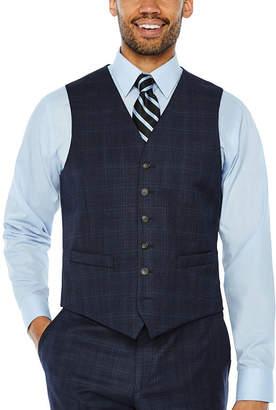 STAFFORD Stafford Plaid Classic Fit Suit Vest