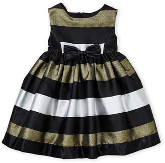 Princess Faith (Toddler Girls) Stripe Sleeveless Dress