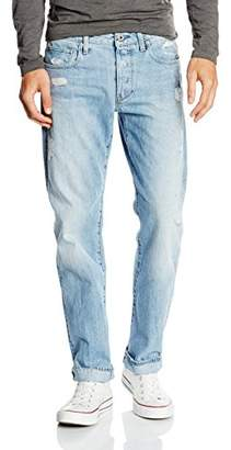 G Star G-Star Men's Attacc Straight Fit Jeans - Blue (Blue ())