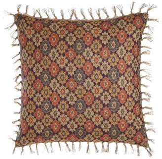 """Pine Cone Hill Anatolia Print Pillow, 20""""Sq."""