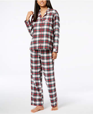 Matching Family Pajamas Women Stewart Plaid Pajama Set