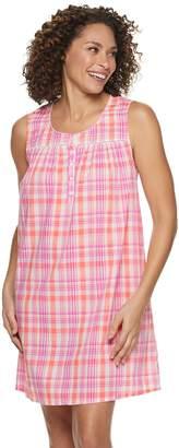 Croft & Barrow Women's Pintuck Nightgown