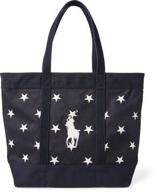 Ralph Lauren Star-Spangled Pony Cotton Tote