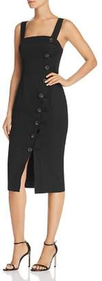 Finders Keepers Mila Button-Front Dress