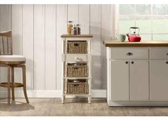 Hillsdale Furniture Seneca Tall Basket Stand, Multiple Options
