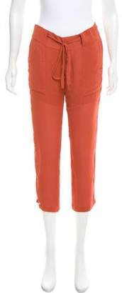 Kimberly Ovitz Mid-Rise Straight Leg Pants