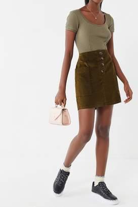 BDG Kendri Uncut Corduroy Mini Skirt