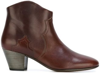 Isabel Marant Étoile 'Dicker' boots $431.66 thestylecure.com