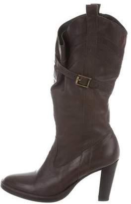 A.F.Vandevorst A.F. Vandevorst Leather Mid-Calf Boots