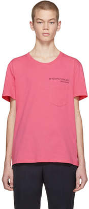 Valentino Pink Anywhen Coordinates Pocket T-Shirt