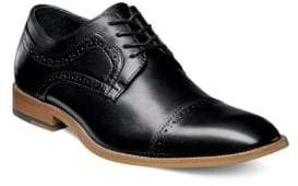 Stacy Adams Dickinson Cap Toe Leather Oxfords