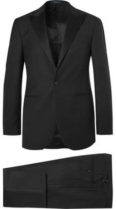 Polo Ralph Lauren Black Fairbanks Slim-fit Wool Tuxedo - Black