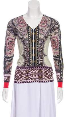 Etro Silk Paisley Sweater