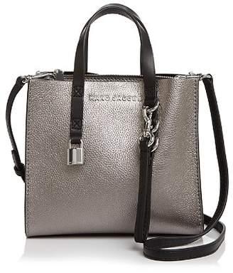 Marc Jacobs Mini Grind Metallic Leather Crossbody