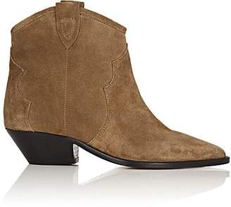 Isabel Marant Women's Dewina Suede Ankle Boots - Taupe
