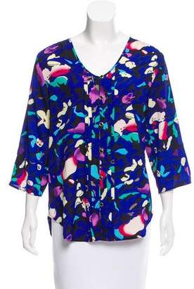 Yumi Kim Long Sleeve Button-Up Top