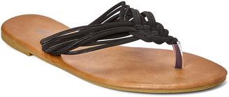Black Knottie Sandal $12.95 thestylecure.com