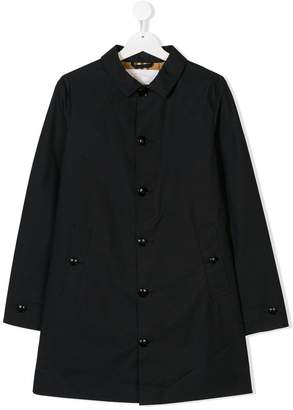 Burberry TEEN single breasted coat