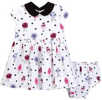 kate spade new york Kimberly Dress & Bloomer Set (Baby Girls) $78 thestylecure.com