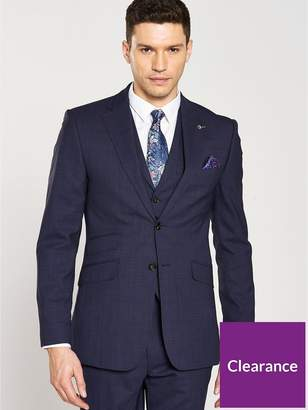 Ted Baker Sterling Check Jacket - Blue