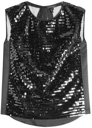 Marc Jacobs Sequin Shell Top