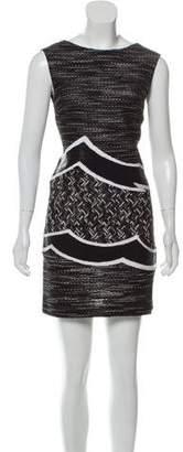 Missoni Sleeveless V-Neck Mini Dress