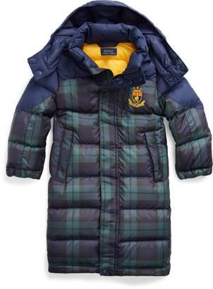 Ralph Lauren Tartan Down Hooded Coat