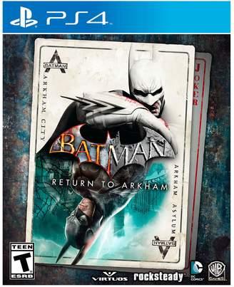 DAY Birger et Mikkelsen Warner Home Video Games Batman: Return To Arkham for PS4