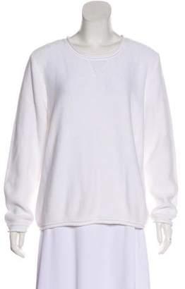 eskandar Knit Long Sleeve Sweater