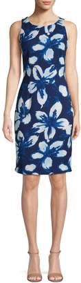 Lori Michaels Floral Sheath Dress