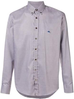 Etro checked shirt