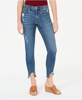 American Rag Juniors' Ripped High-Low Skinny Jeans