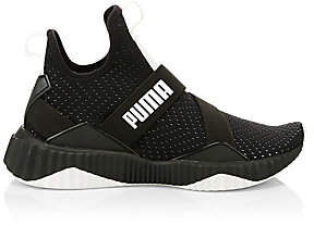 Puma Women's Defy Wn's Knit Perforated Slip-On Runners