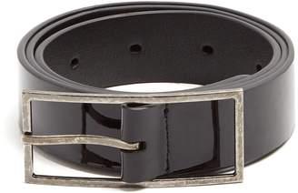 Saint Laurent Skinny leather belt