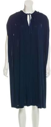 David Szeto Short Sleeve Midi Dress