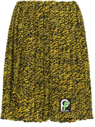 Prada short pleated skirt