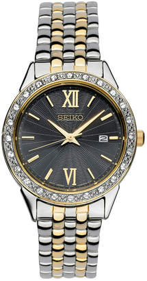 Seiko Limited Edition Women Special Value Two-Tone Stainless Steel Bracelet Watch 28mm