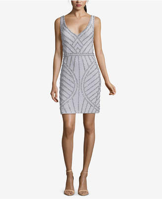 Xscape Evenings Beaded Sheath Dress