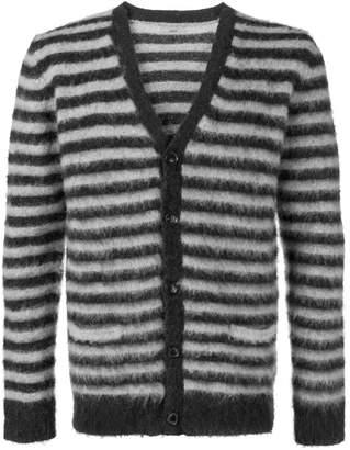 Nuur striped mohair cardigan