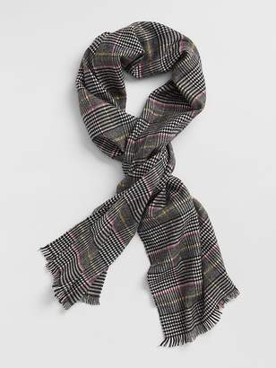 Gap Cozy Plaid Scarf