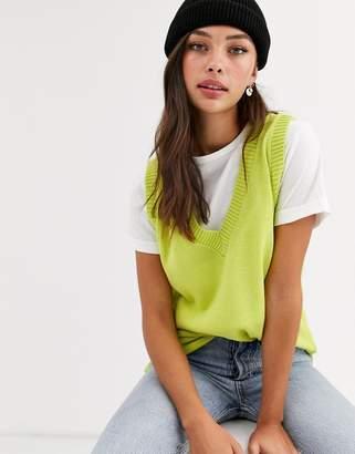 Daisy Street sleeveless sweater tank