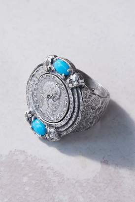 Tat2 Designs Gemstone Medallion Ring