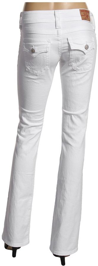 True Religion Becky in Body Rinse (White) (Body Rinse (White)) - Apparel