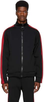 Miharayasuhiro Black Enlarged Track Jacket