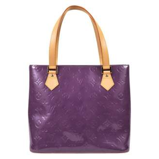 Louis Vuitton Houston Patent Leather Handbag