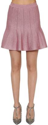 Alberta Ferretti Lurex Knit Skirt