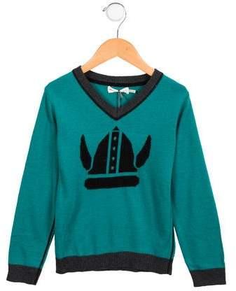 Deux Par Deux Boys' Patterned Sweater w/ Tags