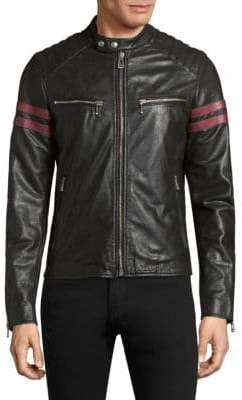 Belstaff Thurlstone Tiger Leather Jacket