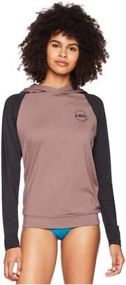 O'Neill Print Long Sleeve Hoodie Women's Swimwear